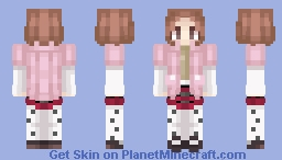 Haru Okumura - Persona 5 Minecraft Skin