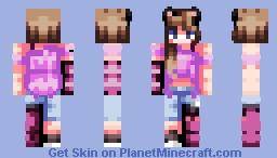 ~ Purple Meow ~ Minecraft Skin