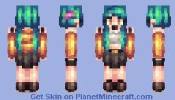 blazing Minecraft Skin