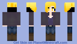 short hair jeans casual Minecraft Skin