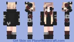 Dark Roses Minecraft Skin