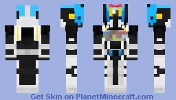 Kamen Rider Diend Complete Form Minecraft Skin