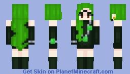 Esmeraude - Sailor Moon ~ Black Moon Clan Minecraft Skin