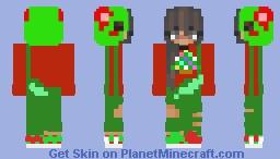 For TheKlutzRascal! MERRY CHRISTMAS KLUTZ! Minecraft Skin