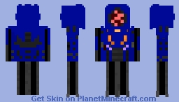 Lost in space evil robot[read description] Minecraft Skin