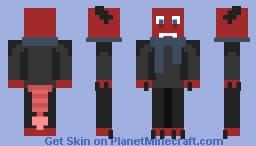 Sherlock Holmes as a Box Monster (cuz why da hecc not) Minecraft Skin
