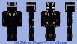 Black Panther Infinity War Minecraft Skin