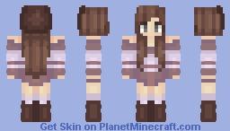 Mauve Minecraft Skin