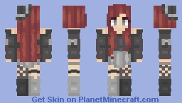 Contrast | Persona Minecraft Skin