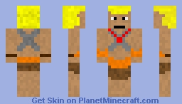 He-Man - Action Figure - Toy Chest Contest Entry Minecraft Skin