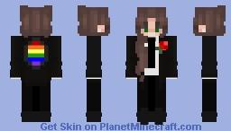 Prideful Female Butler Minecraft Skin