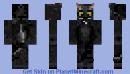 my cat version 2 Minecraft Skin