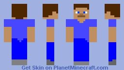 Steve remake Minecraft Skin