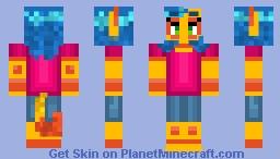 ponda - my fursona Minecraft Skin