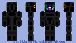 RGB Visor Minecraft Skin