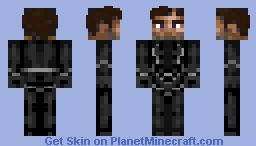 Black Bolt without mask  (request) Minecraft Skin