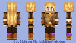 Yang Xiao Long (Timeskip) - RWBY Minecraft Skin