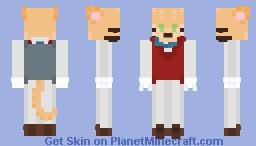 -= Baron Humbert Von Gikkingen =- Minecraft Skin