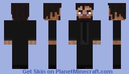 John Wick (Steve Facial Features) Minecraft Skin