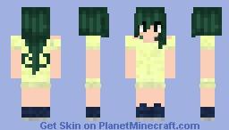 Tsuyu Asui Skin Minecraft [Boku no hero Academia] Minecraft Skin