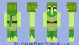 With the hope of the forest... Minecraft Skin