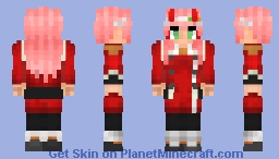 Zero Two - [Darling in the Franxx] Minecraft Skin