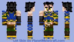 diarmuid (Saber)  ディルムッド Fate/Grand Order Minecraft Skin
