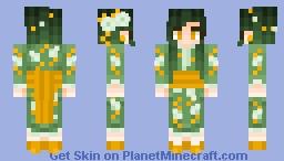 Green Tea Jade Minecraft Skin