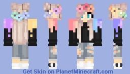Cute Girl Minecraft Skin