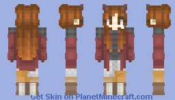 Cluttered Emotions ~Madison Averia~ Minecraft Skin