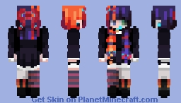 uWu IG skin~~~~pOP rEeL Minecraft Skin