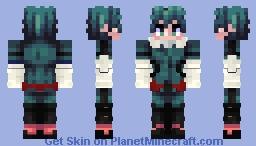 Deku (Gamma Suit) Minecraft Skin