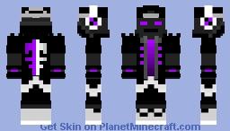 DeaedLockz Vivid Core Minecraft Skin