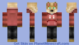 Fennec in a Hoodie! Minecraft Skin