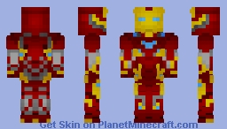 Iron Man | Bleeding Edge | Infinity War | Minecraft Skin