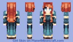 Merida  -℘ø℘ℜεε£- Minecraft Skin