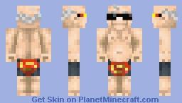 Man of steel  (title theft Dinowcookie) Minecraft