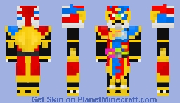 Kamen Rider Para-DX Perfect Knock Out Gamer lv99 Minecraft Skin