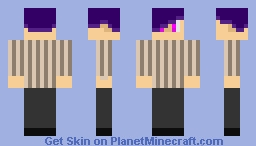 Male Yuri Minecraft Skin