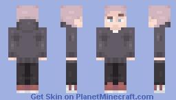 """seth everman"" but it's a minecraft skin Minecraft Skin"