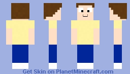 Morty (Rick and Morty) Minecraft Skin