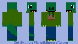 Utahraptor232 (With Mammoth Cave Sweatshirt) Minecraft Skin