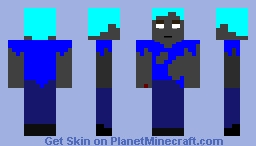 Steve (Powered Up) Minecraft Skin