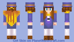 Hat Kid - A Hat In Time Minecraft Skin