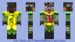 Robin teen titan Minecraft Skin