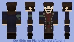'Murrican Blue Coat Minecraft Skin