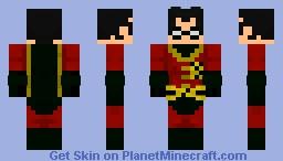 Jason Todd 2nd Robin Minecraft Skin