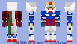 Destiny Gundam From Gundam Seed Destiny Minecraft Skin