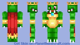 King K. Rool || Donkey Kong Country - Super Smash Bros Ultimate || Nintendo Minecraft Skin