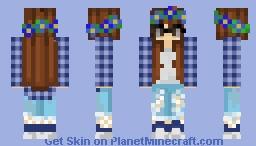 Glasses Girl Minecraft Skin
